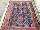 Antique Mahal rug Lovely carpet  circa 1920s good condition