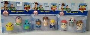 Disney Pixar Toy Story 4 Finger Puppets ☆COMPLETE SET☆ plus FREE SHIPPING!!