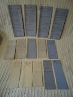 14 x Antique Victorian 1860s Documents - St Peter Street Winchester Hampshire