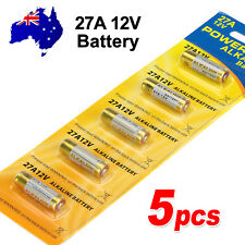 5x OZ 27A 12V MN27 LR27A A27 L828 V27GA Alkaline Battery Garage Car Remote Alarm