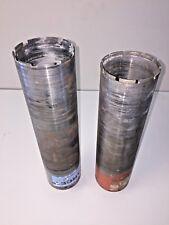 """4"""" (102MM) x 17"""" (432MM) & 4"""" (102MM) x 16"""" (407MM) Core Drill Bits Used"""