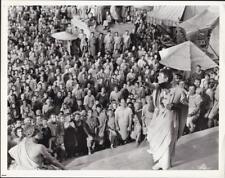 James Mason closeup in Julius Caesar 1953 vintage movie photo 33780