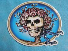 Grateful Dead Bertha Skull & Roses MINI 3 Inch Sticker