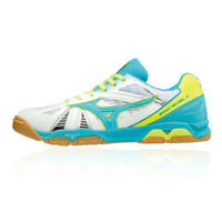 Mizuno Mens Wave Medal 5 Table Tennis Shoe White Sports Breathable Lightweight