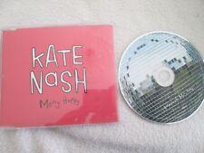Kate Nash – Merry Happy  Fiction Records MERRY1 UK Promo CD Single