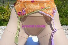 porte-jarretelles RAVAGE modèle INSOLITE orange T/ 2