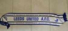 More details for original leeds utd vintage scarf charity shield 1992