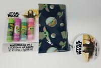 Star Wars The Mandalorian Lip Balm Set & Small Makeup Bag