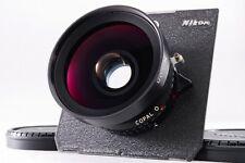 N.Mint- Nikon Nikkor SW 75mm f/4.5 S LateModel Copal0 Large Format fromJapan#m17