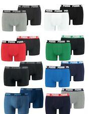 Puma Herren Boxershorts 2er 4er 6er 8er 10er Pack Unterwäsche Unterhosen Boxer