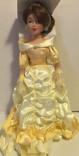 "Disney Princess Collection Porcelain ""Belle"" Doll from Beauty And The Beast"