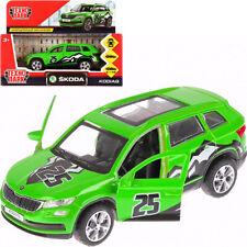 Skoda Kodiaq Sportline Green Die-cast Car Scale 1/36