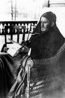 New 5x7 Photo: President & Civil War Gen. Ulysses Grant writing Memoirs in NY
