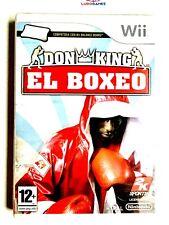 Don King Boxeo PAL/SPA Wii Precintado Nuevo Sealed Brand Perfecto Estado New