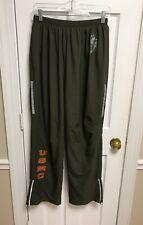 USMC Marine Corps PT Uniform Green Track Pants Size Medium Short