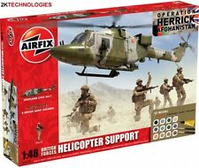 Airfix A50122 British Forces Helicopter Support Plastic Kit 1/48th Scale T48Post
