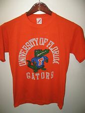 University Of Florida Gainesville USA Gators Vintage 1987 Thin Orange T Shirt M