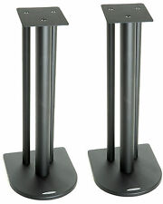 Atacama Nexus 5i Speaker Stands Satin Black (Pair)
