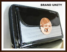 FREE POST Mimco Large Turnlock Travel Wallet Purse Brand New TAG NO DEFECT