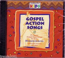 Cedarmont Kids Gospel Action Songs CD Classic Great Children New Sealed