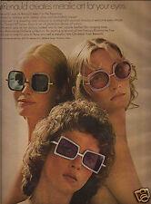 70's Renauld Aluminairies Sunglass Collection Ad  1970