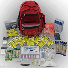 3 Day Emergency Survival Black Backpack Deluxe Kit