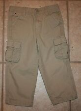 Tommy Hilfiger Boys 2T Adjustable Waist Hook Closure Cargo Pants
