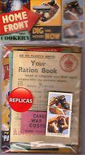 Home Front Memorabilia Pack: Ration Book Air Raid Evacuation World War 2 WW2 Dig