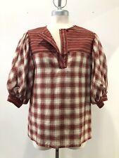 1970's Leo Chevalier Brodkin [Montreal] Boho Checkered Top & Midi Skirt