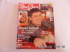 NOUS DEUX N°3048 29/11/2005 DANIEL AUTEUIL YVETTE HORNER ROMAN PHOTOS     K17