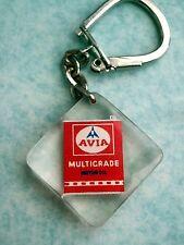 Ancien porte cle Bidon Huile Moteur Avia Multigrade vintage