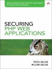 Securing PHP Web Applications, Ballad, William, Ballad, Tricia, Acceptable Book