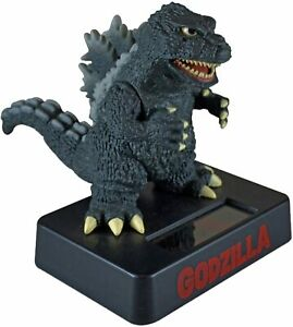 Godzilla Solar Mascot Solar Power System Moving Figure Accessory Toy