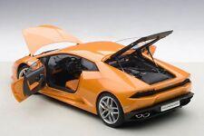 Autoart LAMBORGHINI HURACAN LP610-4 ARANCIO BOREALIS/ORANGE METALLIC 1/18 New!