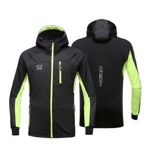 Windproof Cycling Jacket Full Zipper Waterproof Windbreaker Bicycle Sports Coat