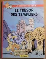 PASTICHE Tintin - LE TRÉSOR DES TEMPLIERS. Hors Commerce, 64 pages n&b