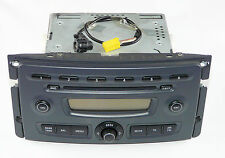 RADIO CD RDS SMART FORTWO 451 WITH CODE AND AUX CABLE A4518204079