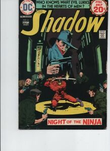 The Shadow #6 (1974, DC) -Bronze age-VG/FN
