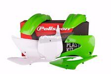 Kit De Plástico De Kawasaki Kx 85/100 2001 - 2013 OEM 12 verde blanco motocross 90462