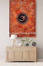 "Om Mandala Meditation Peace Yoga Mat Wall Hanging Poster Tapestry Indian 30*40"""