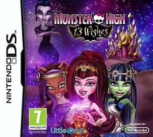 Monster High 13 Wishes (Nintendo DS), Very Good Nintendo DS,Nintendo DS Video Ga
