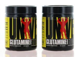 2 Pack Universal Nutrition Glutamine 100 Capsules