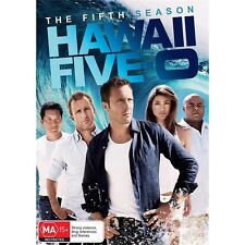 HAWAII FIVE-O.-Season 5-Region 4-New AND Sealed- 5 DVD Set-TV Series