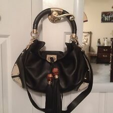 Gucci Indy / Hobo Plates Medium Size Handbag