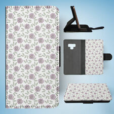 SAMSUNG GALAXY NOTE 9 FLIP CASE WALLET COVER|FLOWER PATTERN 2