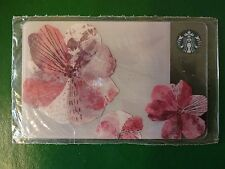 RUSSIA, STARBUCKS RUSSIAN SPRING FLOWERS 2016 CARD,Sealed
