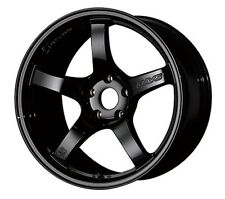 RAYS GramLights 57CR wheels Black 17x9.0J +22 for SKYLINE GT-R(R32) from JAPAN