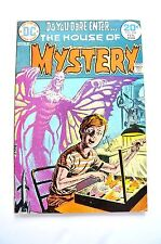HOUSE OF MYSTERY1974 #222 VG DOMINGUEZ BUTTERFLY MONSTER COVER FREE BUY 3 HOM