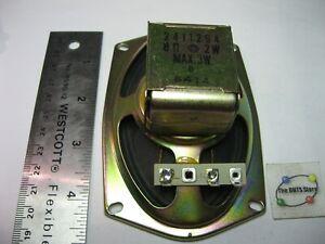 "Speaker Oval 5"" Hitachi 2411294 8 Ohm 2 Watt TV Television - Used Qty 1"