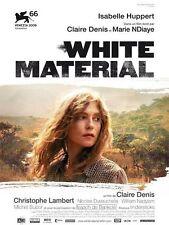 Affiche 120x160cm WHITE MATERIAL (2010) Claire Denis - Isabelle Huppert NEUVE